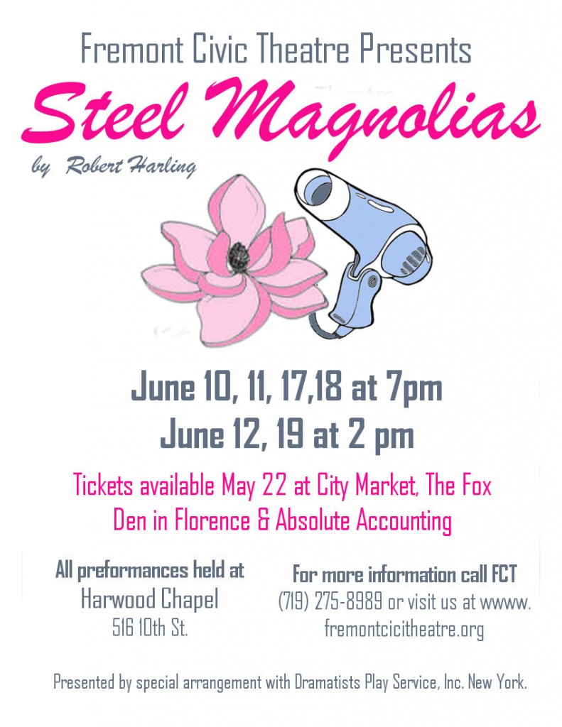 Steel Magnolias add color